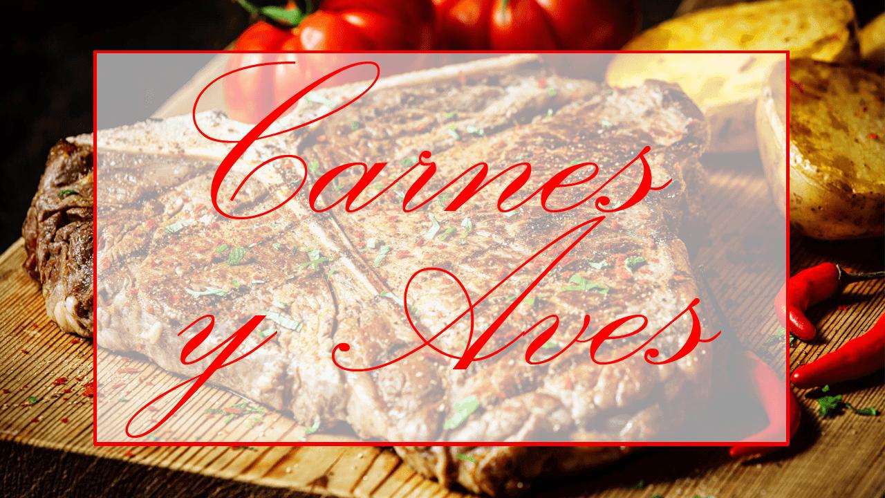 Recetas de carnes y aves