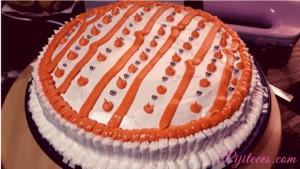 Receta de tarta de Pedro Ximénez