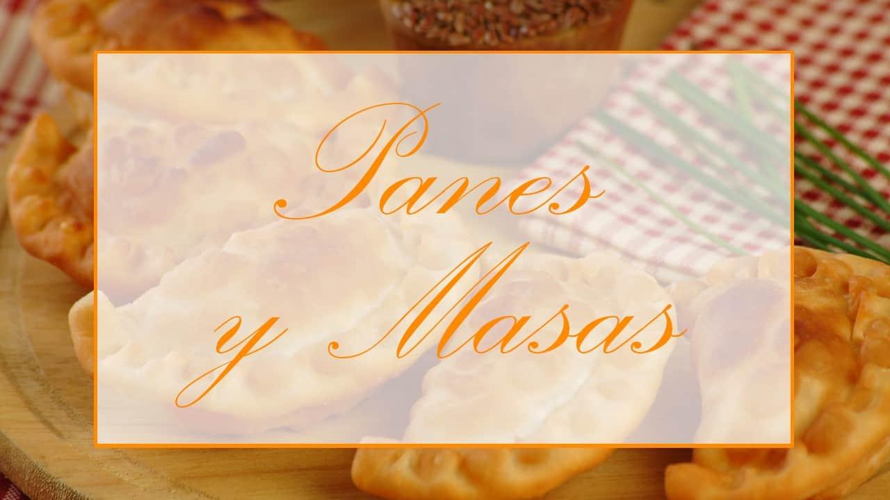 Recetas de panes y masas