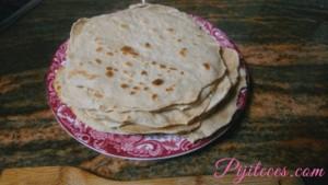 Tortillas de avena y trigo