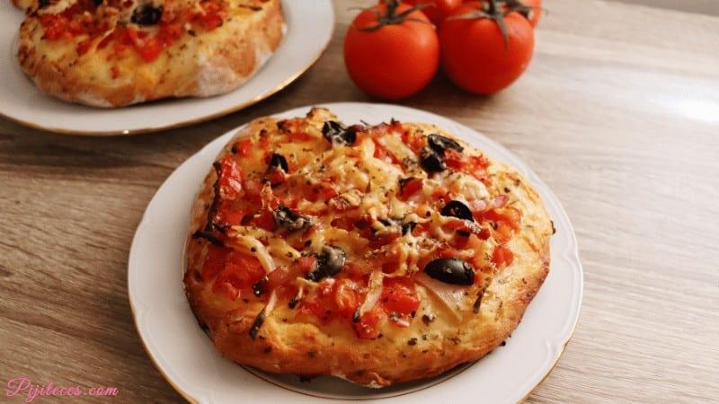 Pizza siciliana (Sfincione italiana)
