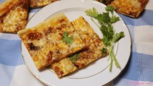 Pizza fácil rápida y picante