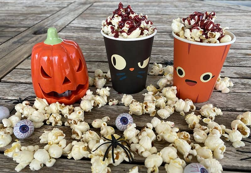 Palomitas especiales para Halloween