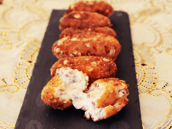 Croquetas de jamón ibérico y queso