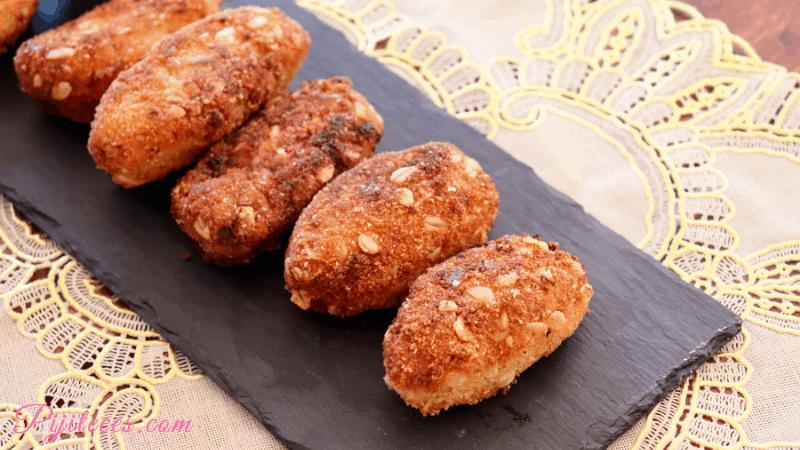 Croquetas de jamón y queso curado